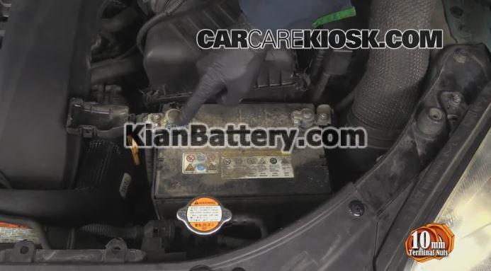 hyundai tucson battery replacement 4 راهنمای تعویض باتری هیوندای توسان