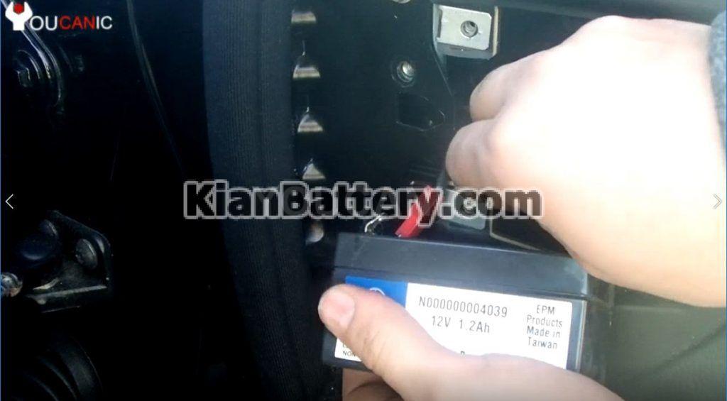install auxilary battery 1024x565 تعویض باتری کمکی بنز کلاس S و CL مدل 2006 2013