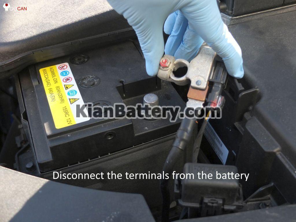 kian optima battery replacement 4 1024x768 آموزش تعویض باتری کیا اپتیما