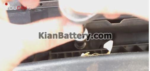 remove battery hyundai 1 راهنمای تعویض باتری هیوندای النترا