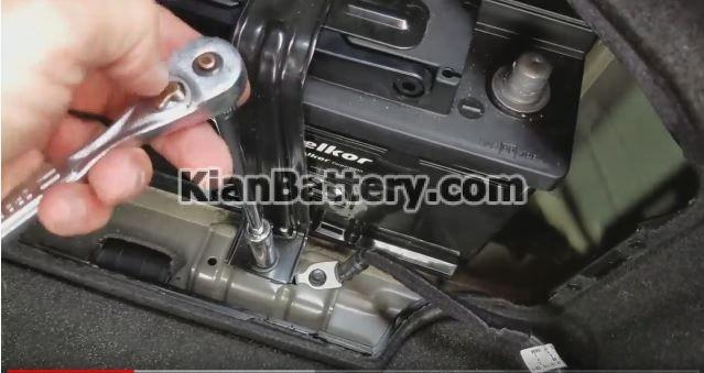 sonata hybrid battery 3 راهنمای تعویض باتری هیوندای سوناتا هیبرید