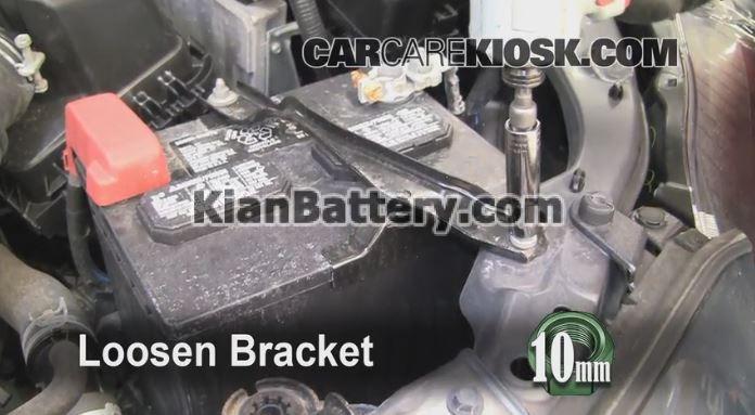 2009 2013 toyota crolla battery replacement راهنمای تعویض باتری تویوتا کرولا