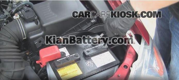 2009 2013 toyota crolla battery replacement1 راهنمای تعویض باتری تویوتا کرولا