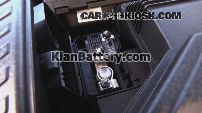 Kia Sportage battery replacement3 راهنمای تعویض باتری کیا اسپورتیج
