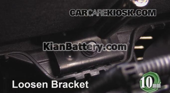 Kia Sportage battery replacement5 راهنمای تعویض باتری کیا اسپورتیج