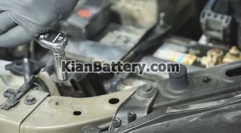 lexus Rx350 battery replacement3 راهنمای تعویض باتری لکسوس RX350