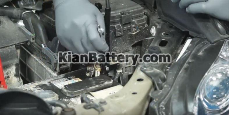 lexus Rx350 battery replacement4 راهنمای تعویض باتری لکسوس RX350