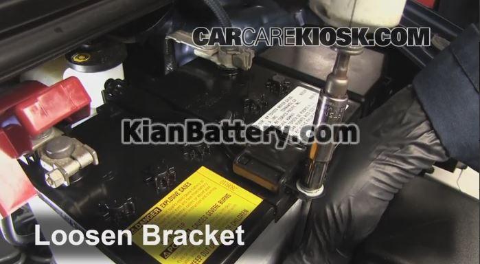 toyota yaris battery replacement2 آموزش تعویض باتری تویوتا یاریس