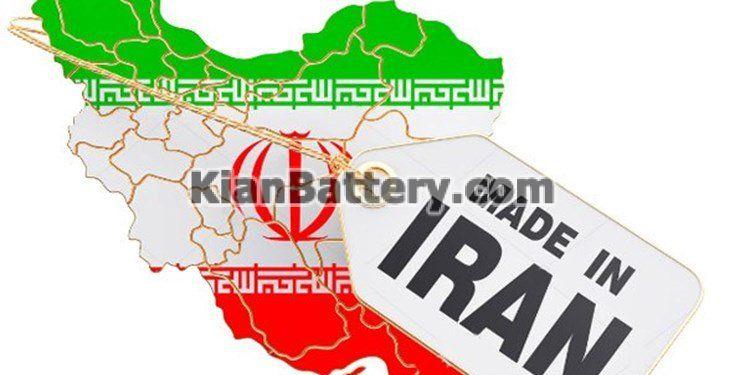 made in iran کارخانه های تولید باتری یو پی اس UPS در ایران