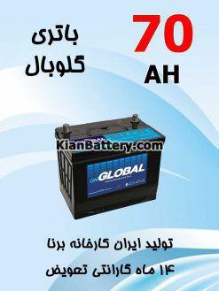 70 global 247x329 باتری گلوبال برندی از برنا باتری