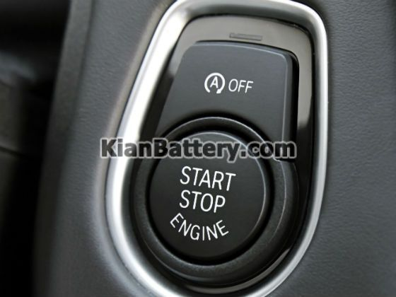 start stop engine سیستم استارت استاپ یا خاموش روشن