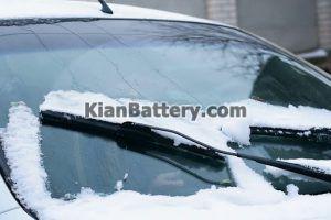 برف زدایی 300x200 راهکارهای تقویت برف پاک کن خودرو