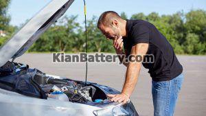 علائم خوابیدن باتری 300x169 علت خوابیدن باتری ماشین و راه حل آن