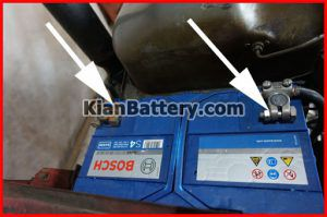 قطب باتری تراکتور 300x199 باتری تراکتور و همه چیز در مورد آن