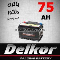 Delkor Battery 75 200x200 باتری CENE سین محصول دلکور کره