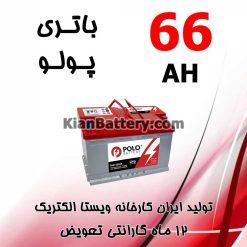 باتری 66 آمپر پولو