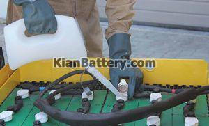 آب باتری لیفتراک 300x181 باطری لیفتراک برقی