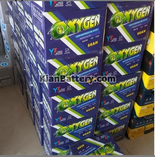 باتری اکسیژن محصول یکتا باتری