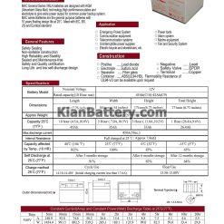 مشخصات باتری 42 آمپر ساعت یو پی اس فاراتل
