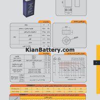 مشخصات باتری 2 ولت 250 آمپر ساعت یو پی اس صباباتری