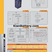 مشخصات باتری 2 ولت 300آمپر ساعت یو پی اس صباباتری