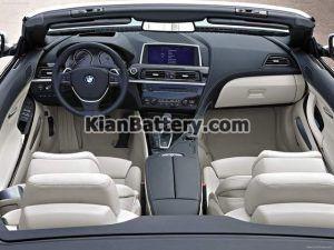 BMW 630i Cabriolet 8 300x225 باتری بی ام و 630