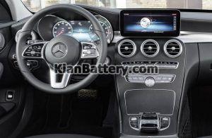 Mercedes Benz C200 11 300x195 باتری بنز C200