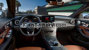 Mercedes Benz C200 12 300x169 باتری بنز C200