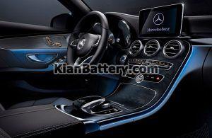 Mercedes Benz C200 14 300x195 باتری بنز C200