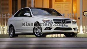 Mercedes Benz C280 10 300x169 باتری بنز C280