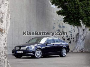 Mercedes Benz C350 11 300x225 باتری بنز C350