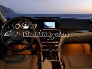 Mercedes Benz C350 17 300x225 باتری بنز C350