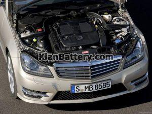 Mercedes Benz C350 18 300x225 باتری بنز C350