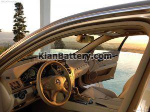 Mercedes Benz C350 6 300x225 باتری بنز C350