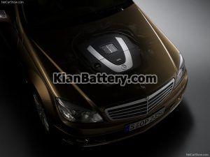 Mercedes Benz C350 9 300x225 باتری بنز C350