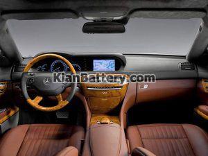 Mercedes Benz CL500 8 300x225 باتری بنز CL500