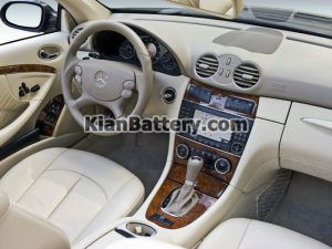 Mercedes Benz CLK 350 8 300x225 باتری بنز CLK350