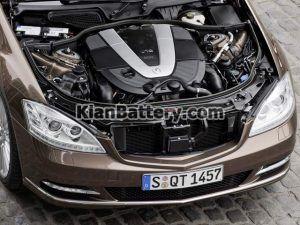 Mercedes Benz S350 8 300x225 باتری بنز اس 350