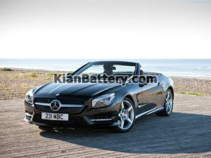 Mercedes Benz SL350 10 300x225 باتری بنز SL350