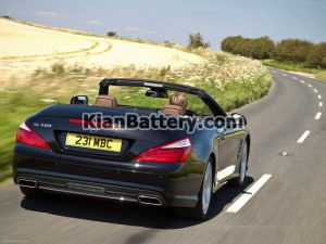Mercedes Benz SL350 11 300x225 باتری بنز SL350