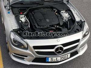 Mercedes Benz SL350 17 300x225 باتری بنز SL350