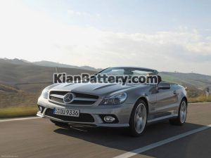Mercedes Benz SL350 2 300x225 باتری بنز SL350