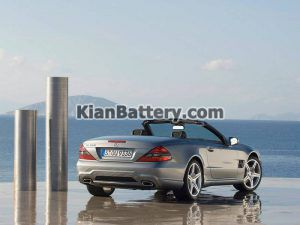 Mercedes Benz SL350 4 300x225 باتری بنز SL350