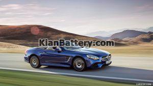 Mercedes Benz SL500 11 300x169 باتری بنز SL500