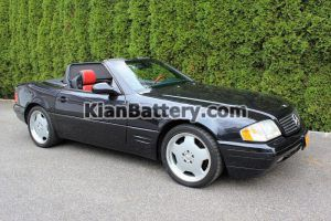 Mercedes Benz SL500 12 300x200 باتری بنز SL500