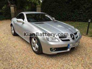 Mercedes Benz SLK200 2 300x225 باتری بنز SLK200
