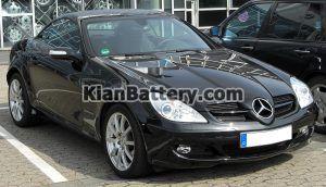 Mercedes Benz SLK200 4 300x172 باتری بنز SLK200