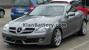 Mercedes Benz SLK200 5 300x170 باتری بنز SLK200