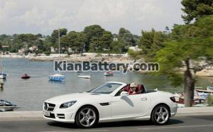 Mercedes Benz SLK350 9 300x186 باتری بنز SLK350