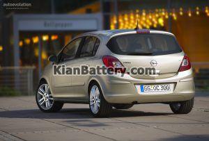 Opel Corsa 4 300x203 باتری اپل کورسا